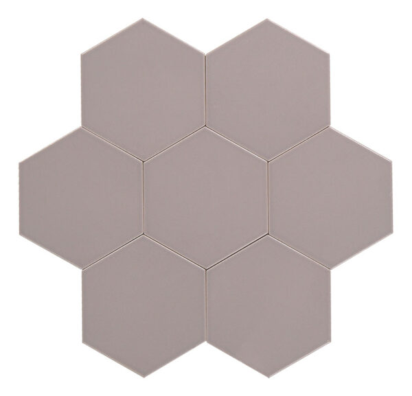 Hexagon grey är en del av färgsortimentet.