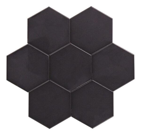 Hexagon svart är en del av färgsortimentet.