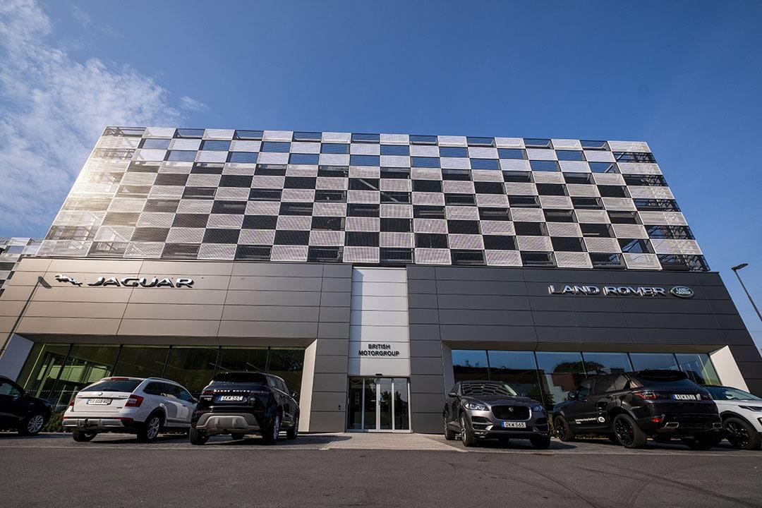 Höganäshuset levererade alla plattor till Jaguar Smista